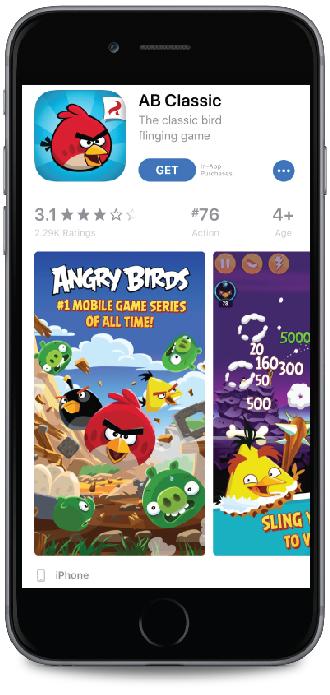 Freemium app example