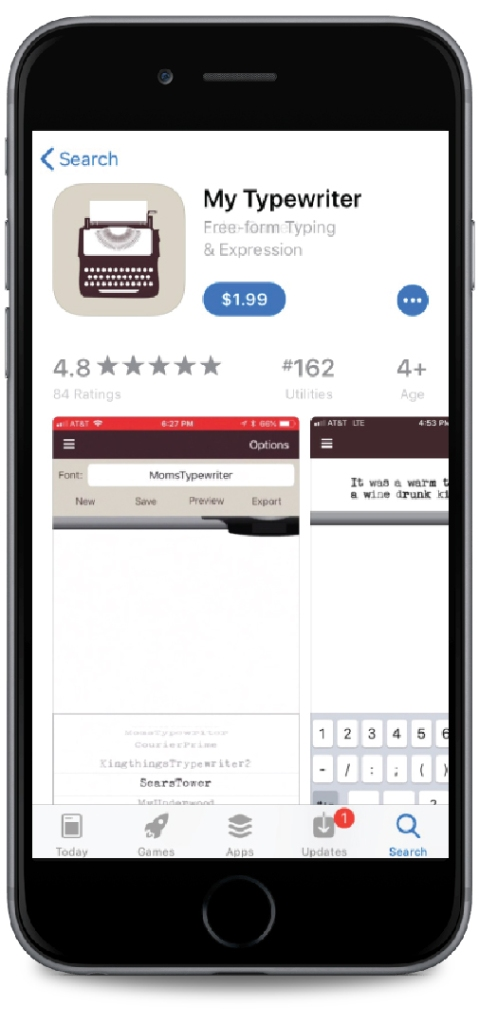 Premium app example. Example of a pay-to-download mobile app.