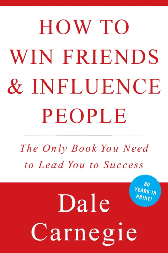 How To Win Friends & Influence People book cover by Dale Carnegie