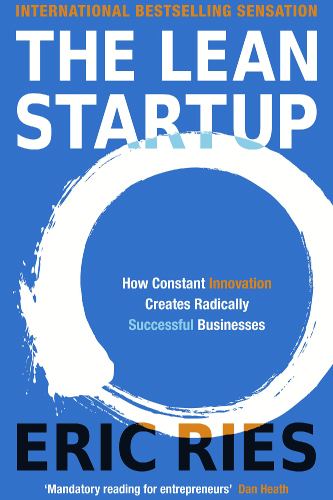 The lean Starup book cover by Eric Ries