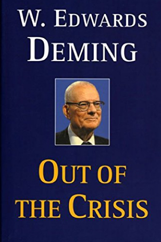Out of the Crisis book cover by W. Edwards Deming