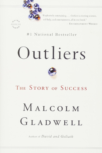 Outliers book cover by Malcom Gladwell