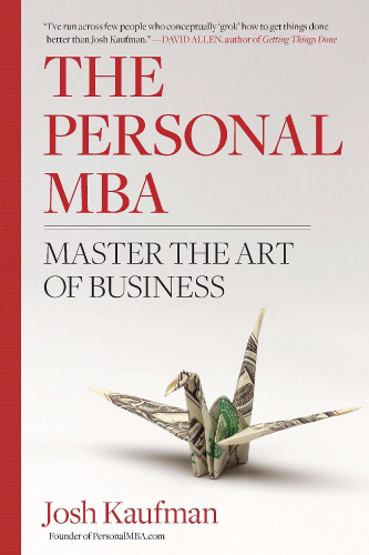 The Personal MBA book cover by Josh Kaufman